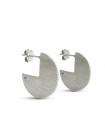 RADIUS - Pendientes de plata redondos - Mini
