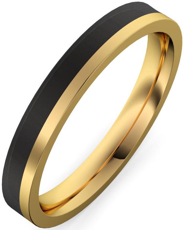 alianza oro amarillo y fibra de carbono